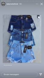Shorts lady rock novo