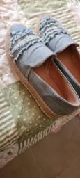 Sapatilha. Flatform. Sapato. Jeans