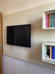 Painel de TV em MDF laqueado