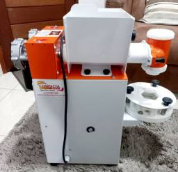 Título do anúncio: Vendo máquina de coxinha compacta print