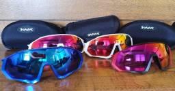 Óculos ciclismo KAPVOE com 5 lentes
