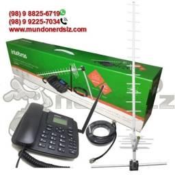 Kit Telefone Rural, dual band GSM Intelbras CFA-4212 em são luís ma