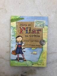 Livro Diário de Pilar na Grécia