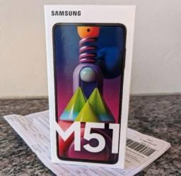 Samsung M51 128GB 6GB RAM LACRADO SUPER BATERIA 7000mAh.