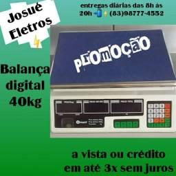 Título do anúncio: Balança digital 40kg PROMOÇÃO entrega a domicílio Jp e regiões