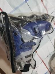 Patins Roller Ajust. 36/38  Azul Fênix Ad-01<br><br><br>