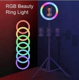 Ring Light Iluminador colorido com 16 cores