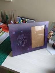 Título do anúncio: Imaginarium Porta Retrato Holográfico Galáxia Boas Vibes
