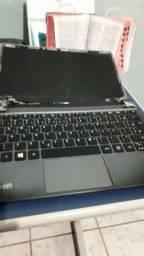Vendo Placa Mãe mais Carcaça do Notebook Acer