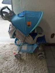Carrinho de Bebê Voyage Azul Promoção