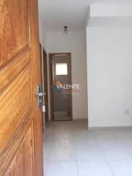 Título do anúncio: Casa com 2 dormitórios-aluguel- por R$ 1.200,00/mês - Parque São Vicente - São Vicente/SP