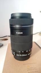 Lente Canon 55-250mm NOVA