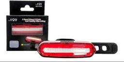 Lanterna LED Farol Traseiro Bike