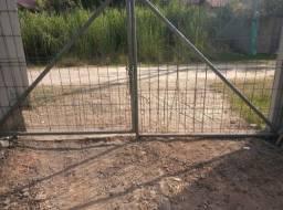 Portão de garagem em aço
