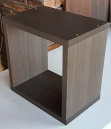 Nicho de madeira 38x38x25x2,5