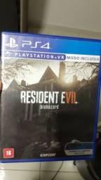 resident evil 7 e fallout 4 PS4