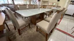 Mesa de jantar para ambientes menores mesa nova completa pronta entrega