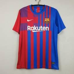 Camisas La Liga Barcelona Home 2021/22