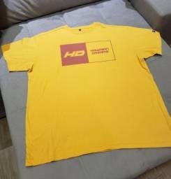02 camisetas de malha tam GG