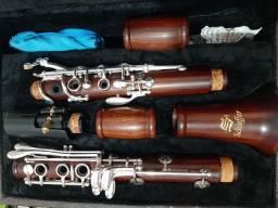 Clarinete Si bemol Schieffer ? Rosewood<br><br>