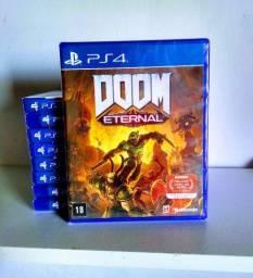 Doom eternal ps4 - mídia física Lacrado
