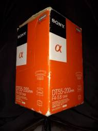 Lente Sony DT55-200mm F4-5.6 SAM