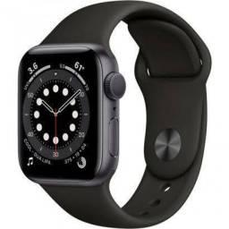 Relógio Apple série 6 Cinza Alumínio.(44mm)