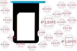 Bandeja Gaveta Chip Para iPhone 5c Azul Original