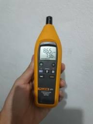Medidor De Temperatura E Umidade / Fluke 971 Impecável