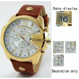 Relógio Masculino Curren(Foto Real No Chat)