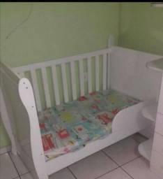 Berço Infantil com colchão