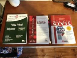 Livros para concursos policiais