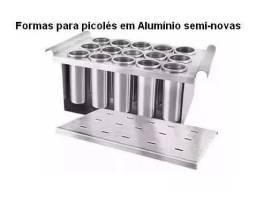 Forma Para Picole Em Alumínio Semi Nova na caixa