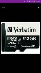 Cartão de memória de 512Gb