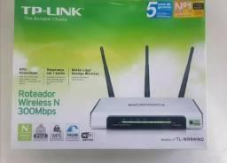 Roteador Wireless Tp-link 300 Mbps 100% Original- Novo
