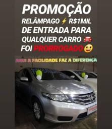 Aqui É FACIL!! R$1MIL DE ENTRADA(HONDA CITY 2012)