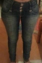 Calça jeans cintura média 36