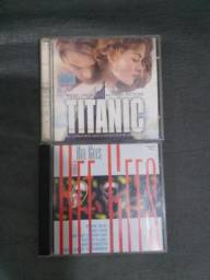 CD do Titanic e Bee Gees