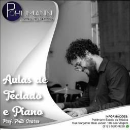 Aulas de Teclado/Piano Individuais (Presencial/Oline)