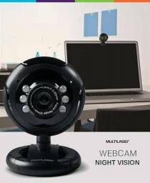 Webcam Multilaser Plug E Play WC045 Com Microfone