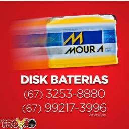 Bateria Moura 18 meses de Garantia (Até 6x sem juros)