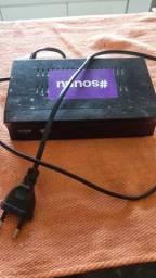 Conversor digital HD+ com acesso internet