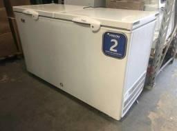 Freezer horizontal 503 litros 2 anos garantia - arthur