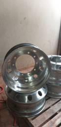Vendo 4  Roda Alumínio  Alcoa (Hungria) 295 10 Furos / 22,5 X 8,5