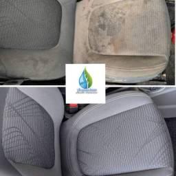 Higienização automotiva promoção