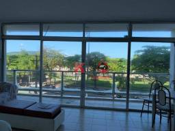 Apartamento com 3 dormitórios para alugar, 150 m² por R$ 3.500,00/mês - Gonzaga - Santos/S
