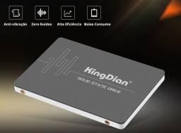 SSD 120,240,480GB. Kingdian. Novo. Aceito cartão, instalo