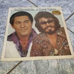 Disco de vinil LP milionário e José Rico