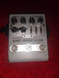 Pedal pra guitarra AMP simulator