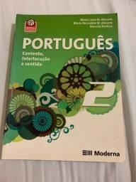 Livro português 2 - Maria Luiza M. Abaurre